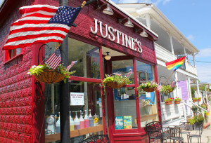 Locations - Justine's Ice Cream Parlour, St MIchaels, MD